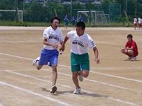 部・同好会対抗リレー(野球部)