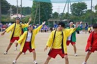 スポーツⅡ選択者による演舞・ソーラン節